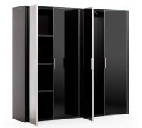 Шкаф для бумаг с гардеробом 4 двери GALA