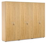 Шкаф для бумаг x 2 с гардеробом EXE