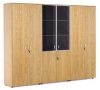 Шкаф комбинированный+гардероб+шкаф для бумаг EXE
