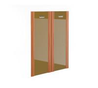 Дверь стеклянная в рамке МДФ комплект (2 шт.) СТ-8.4