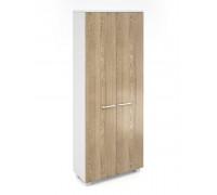 Шкаф книжный высокий закрытый AL-2.2.+4.2