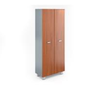 Шкаф книжный высокий закрытый (без топа и боковин) СТ-2.4+СТ-8.14