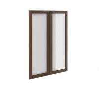Двери стеклянные в рамке (комплект) МЛ-8.3