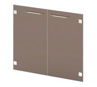 Двери стеклянные низкие Grandeza G-021