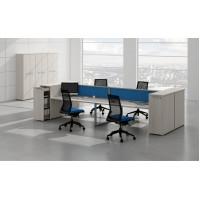 Серия офисной мебели для персонала Gloss