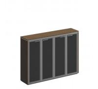 Шкаф для документов средний со стеклянными дверями st82957