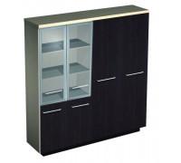 Шкаф комбинированный (стекло среднее-одежда)