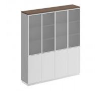 Шкаф для документов со стеклянными дверьми st82924