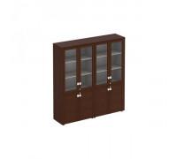 Шкаф комбинированный высокий (стекло + стекло)