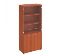 Шкаф для документов со стеклянными прозрачными дверьми st82564