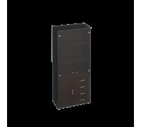 Шкаф для документов с пескоструйными дверями