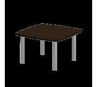 Стол для переговоров на металлических опорах 121