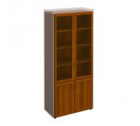 Шкаф для документов со стеклянными дверями в рамке st82612