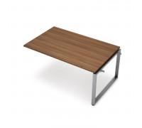 Элемент переговорного стола средний на металло-каркасе 60х30 О-образный серии Аванс (Avance)