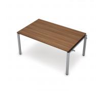 Элемент переговорного стола начальный на металло-каркасе 60х30 П-образный