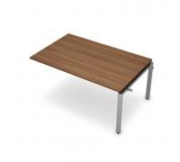 Элемент переговорного стола средний на металло-каркасе сечение 60х30