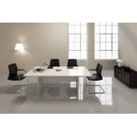 Белый переговорный стол Аванс (Avance)