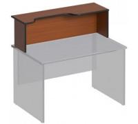 Надстройка к столу с вырезом левая ДР 474