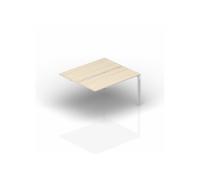 Составной стол на 2 рабочих места - приставной элемент ST2TPS146