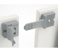 Фиксатор-защелка комплект из 2-х штук для соединения столов Connect CODIMFIX