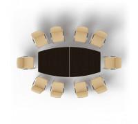 Стол для совещаний 2 модуля MMO2612