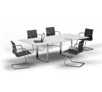 Стол для совещаний стекло OC240V