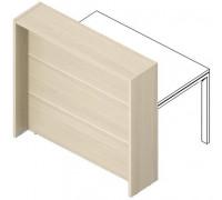 Отдельная стойка для рабочего стола с молдингом FLHMR085