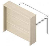 Отдельная стойка для рабочего стола с молдингом FLHMR125