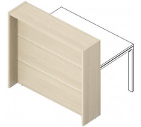 Отдельная стойка для рабочего стола с молдингом FLHMR165