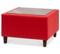 Стол угловой со стеклом или с ЛДСП Kosmo KosT-2
