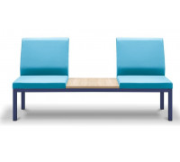 Диван 3-местный без подлокотников со столиком НОРМАН 3А/А+С+А