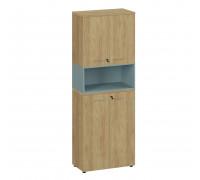 Шкаф высокий составной 3 Flex 221 hinged/open 6Z XH 6Z