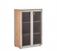 Шкаф H.121 стеклянные двери TERRA