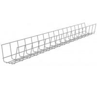 Кабель-канал стола 120 см ХРОМ