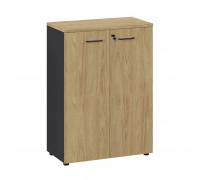 Шкаф средний черный Flex 135H002 151 6Z6Z.34