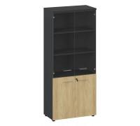 Шкаф высокий комбинированный стекло Flex 135H005 151 6Z6Z