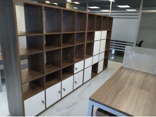 Открытые стеллажи space для документов