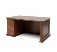 Стол письменный L160 шпон
