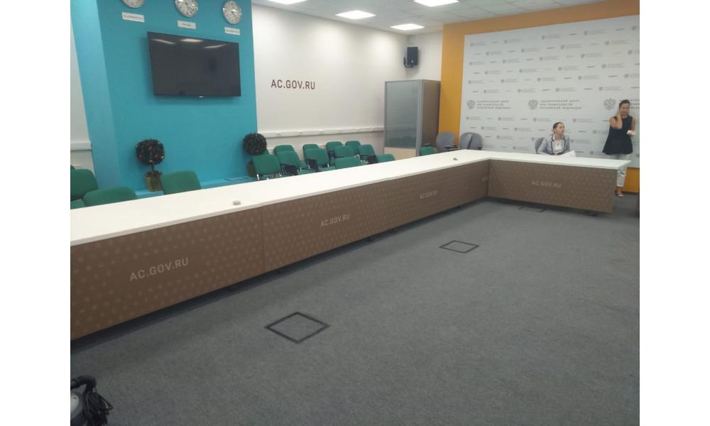 Брендированные складные конференц-столы