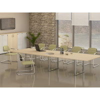 Мебель в переговорную столы Orbis-Carre Meeting