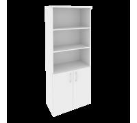 Шкаф высокий широкий (2 низких фасада ЛДСП) O.ST-1.1