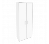 Шкаф высокий широкий O.ST-1.10R white/black
