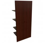 Наполнение двуст. шкафа с дерев. дверьми и вешалкой
