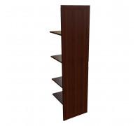 Наполнение одност. шкафа с дерев. дверцей и вешалкой