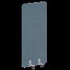 Перегородка на металлических опорах, на роликах AP.R-80-180 R-line Soft