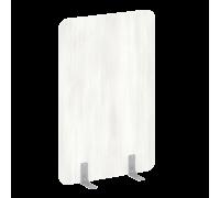 Перегородки на металлических опорах на фетровых подпятниках DP.F-100-150
