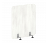 Перегородка на металлических опорах, на роликах DP.R-100-120