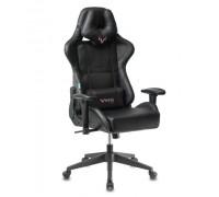 Кресло игровое Бюрократ VIKING 5 AERO BLACK EDITION черный искусственная кожа