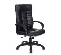 Кресло руководителя Бюрократ KB-10/BLACK черный искусственная кожа